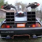 Back to the Future 1981 Delorean Time Machine Back