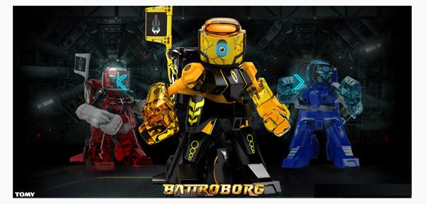 Battroborgs – Rock 'Em Sock 'Em Robots get an upgrade