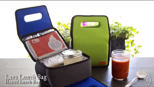 Lava Lunch Heated Lunch Box – It's sort of but not really like a portable volcano.