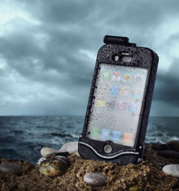 driSuit iPhone Case – All wet? Not the phone in this case.