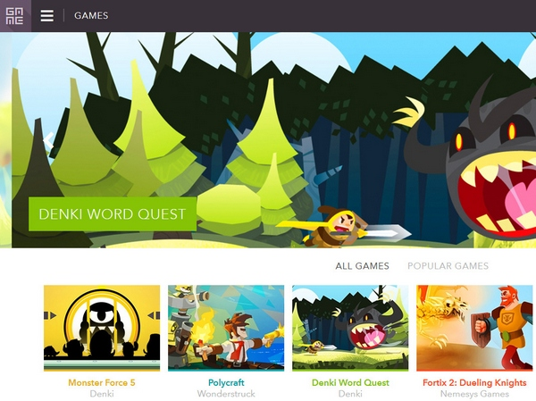 Ga.Me – next generation browser games look beautiful and play well too
