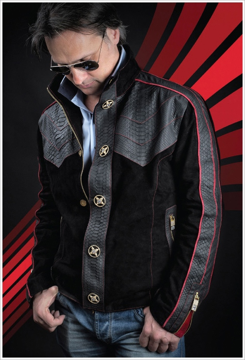 $1 Million Dollar Jacket – clothing for the 1% comes with an anti-theft protection device and zero taste