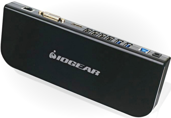 iogearusb3universaldock2 Iogear USB 3 Universal Docking Station   turn your tablet into a desktop PC with a few cables
