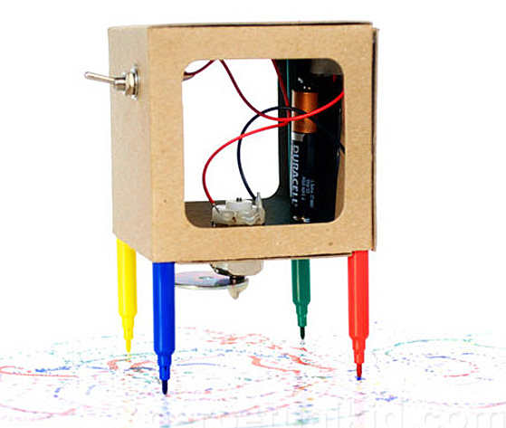 Scribbler The Drawing Robot – abstract art on tap…more or less