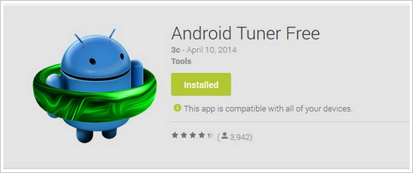Android Tuner Free – the ultimate swiss army knife utility for your smartphone or tablet [Freeware]