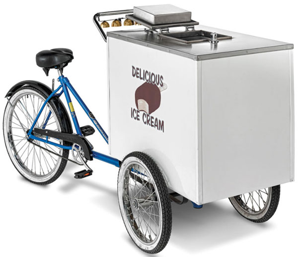Good Humor Ice Cream Cart – pedal and peddle your wares as you go