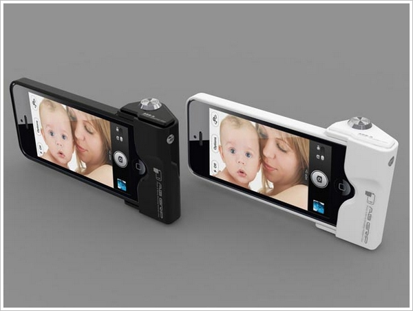 iPhone 5 Camera Grip – give your phone the digital camera feel with this snap on accessory