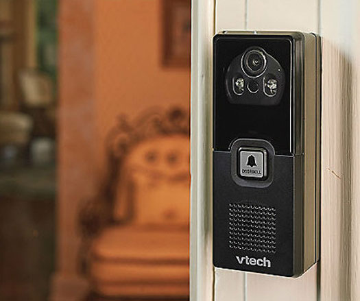 vtechdectvideodoorbell2 VTech DECT Video Doorbell   now your cordless phone is also a security monitor for the front door