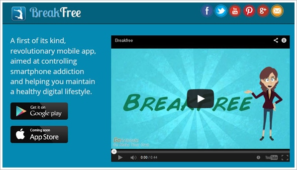 BreakFree Cell Phone Addiction – fight your phone addiction and control your kids use too [Freeware]