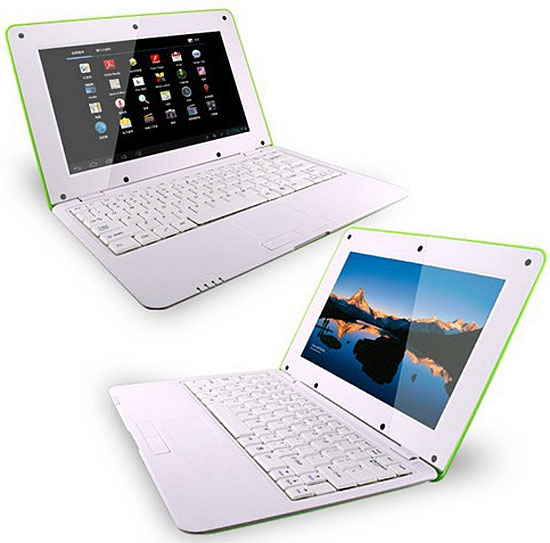 Y10D 10″ Dual Core Android Laptop – welcome to the era of the $94 laptop