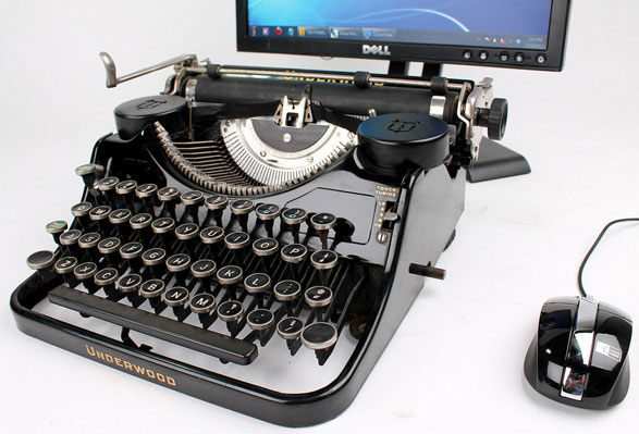 Easy USB Typewriter Conversion Kit – convert your old dusty typewriter into a cool USB keyboard in a couple of hours