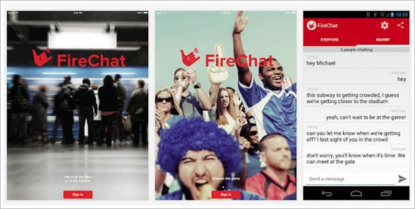 Firechat hits Android…mesh chat without Internet takes a big step forward [Freeware]