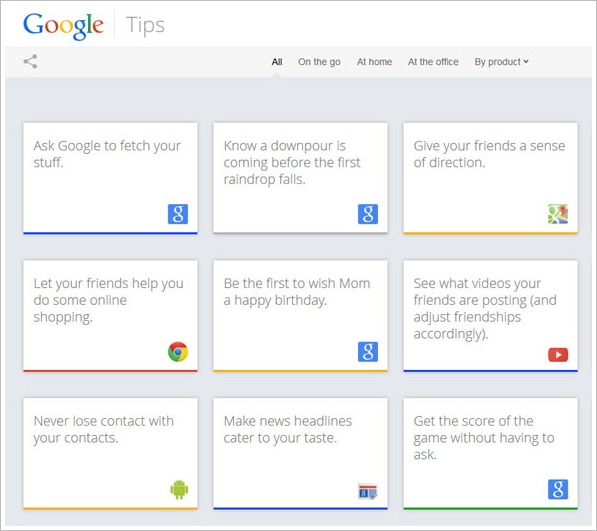 Google Tips – a really cool way to learn all the top tricks to get the most out of Google services