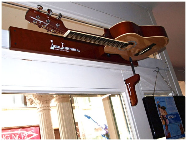 GuitDoorbell – the doorbell which thinks it's a guitar…no wait…