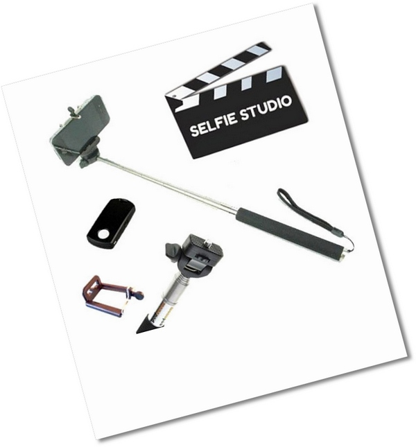 Selfie Studio For iOS and Android – the ultimate self portrait kit for the truly obsessed