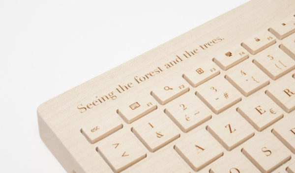 Orée Board 2 – all wood designer keyboard says a lot about who you really are