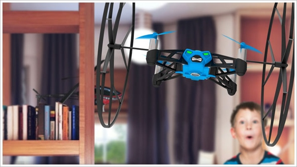 Parrot Rolling Spider Quadcopter – finally, a quad which is actually super easy to fly [Hands On]