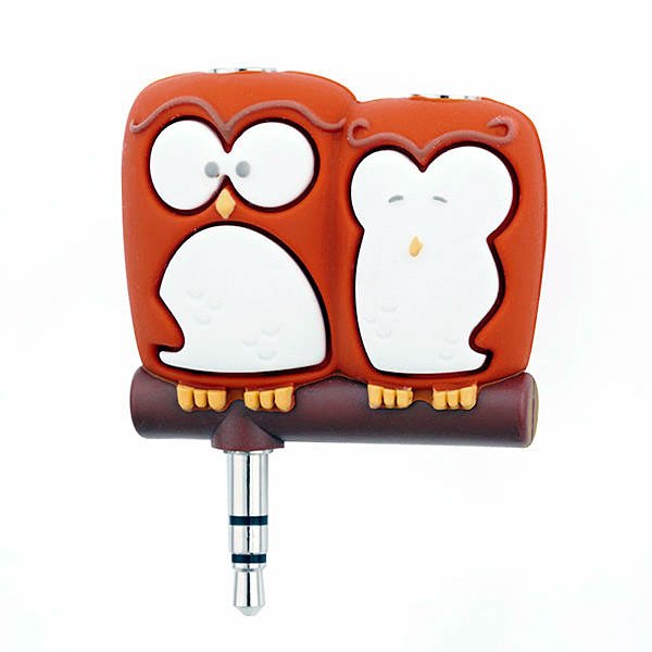 Companion Owls Headphone Splitter