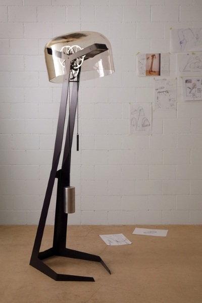 First Light – the Steampunk Lamp with No Electricity Required