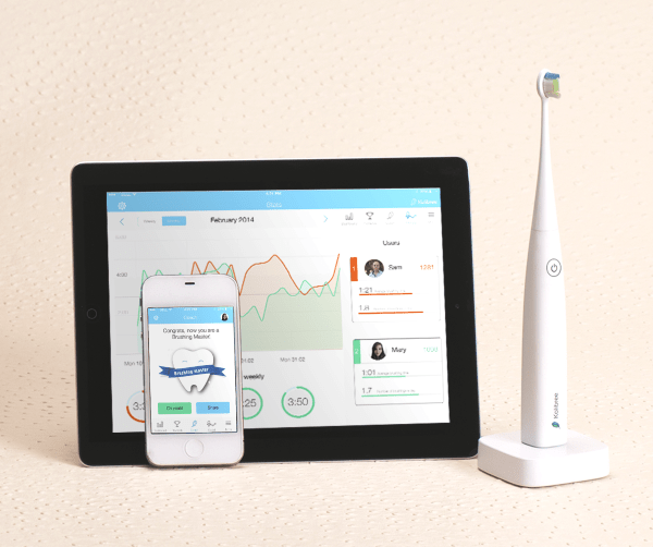 Kolibree Toothbrush – throw a high tech dashboard at your cavities, and smile