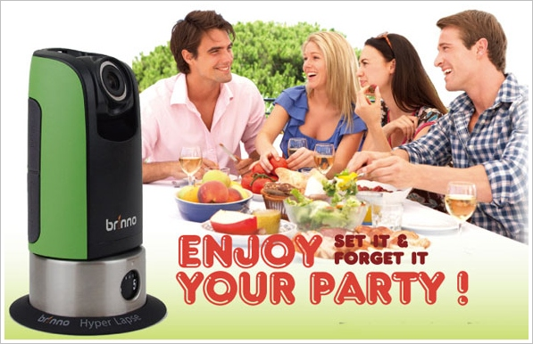 Brinno Party Camera – pan and scan your fun so you can remember later