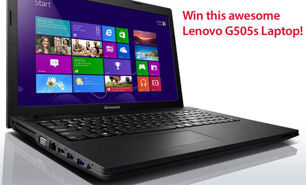 Lenovo Laptop Giveaway Reminder – don't forget it's still up for grabs