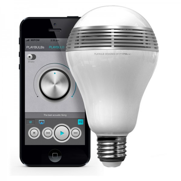 playbulb Playbulb   smart lamp delivers mood and music in one