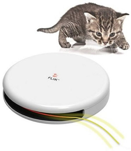 Petsafe Frolicat Flick Automatic Cat Teaser Toy – keep your cat happy and your laptop feline free