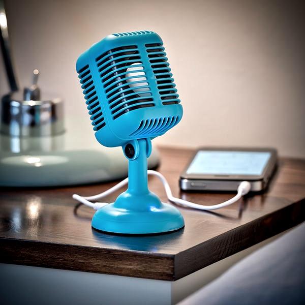 Rockabily Mic Speaker table