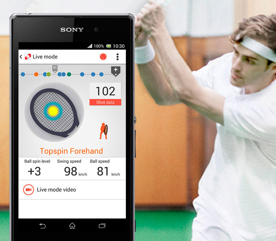 Sony Smart Tennis Sensor – your personal pocket-sized tennis coach