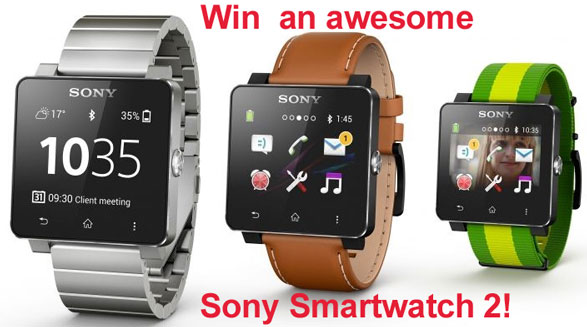 Red Ferret Sony SmartWatch 2 Giveaway – FINAL 48 HOURS!