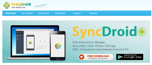 syncdroid Android Primer #2: SyncDroid   the easiest free way to back up and move your stuff from an old Android phone to a new one [Freeware]