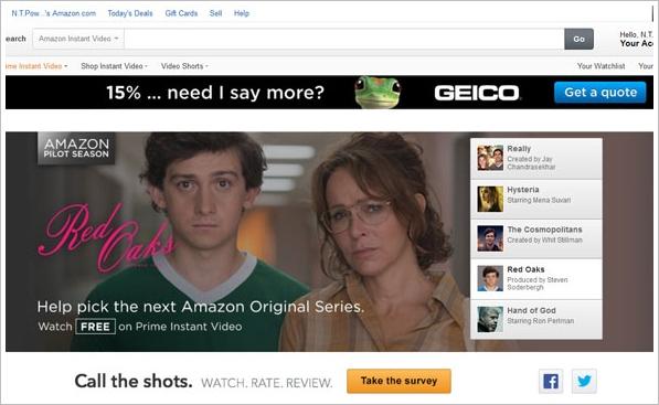 Amazon Pilot Season – do crowdsourced viewer votes point to the future of primetime television services?