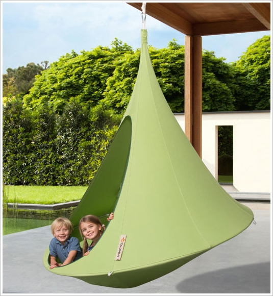 Cocoon Hanging Tent – cool tree house just needs a hook and a branch