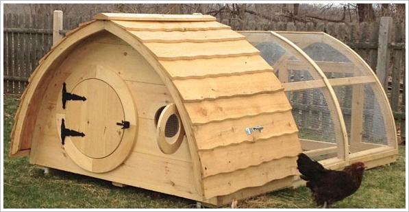 Hobbit Chicken Coop – add a little bit of the Shires to your garden