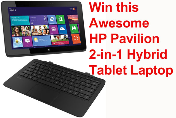 Red Ferret HP Pavilion Tablet Laptop Giveaway – FINAL 36 HOURS!