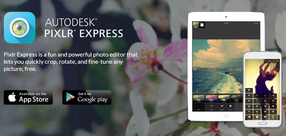 Pixlr Express – superb free smartphone photo editing, and no lousy ads [Freeware]