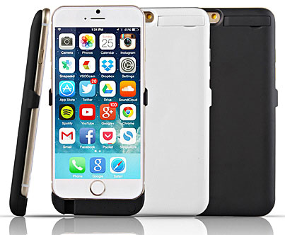 powerjacketforiphone6 Power Jacket for iPhone 6   a 3000mAh battery pack for the phone that doesnt even exist yet