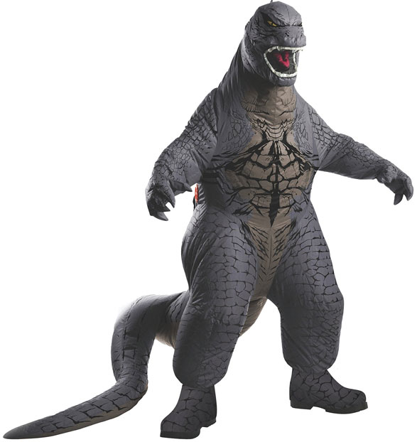 Deluxe Inflatable Godzilla Costume – destroy cities with a single step