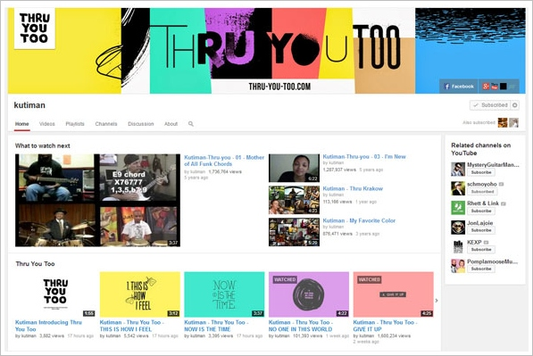 Kutiman: Thru You Too – more YouTube magic from the absolute music master