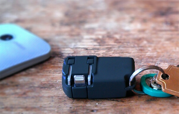 Chargerito – the world's smallest phone charger block for your keychain