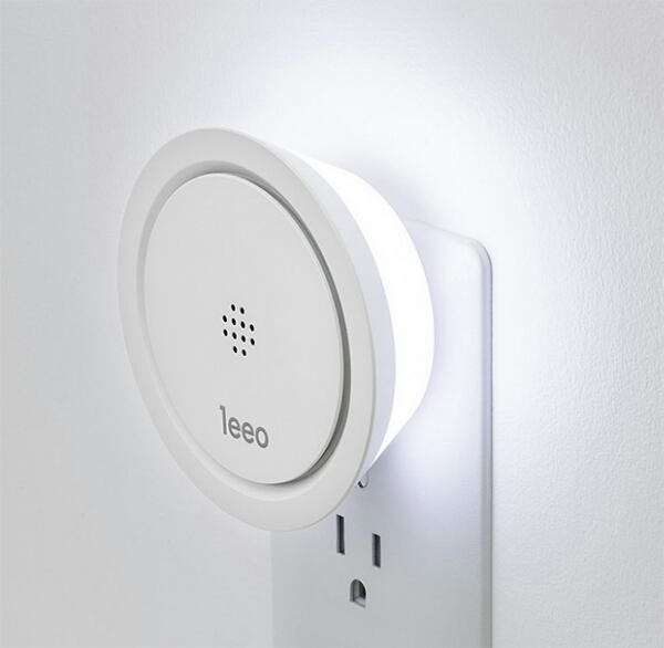 Leeo Smart Alarm – this clever device converts your old dumb smoke alarm beeps into a smartphone alert