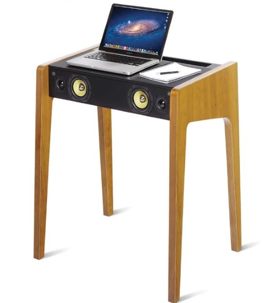 Audiophile Laptop Speaker Desk – the desk committed to pumping out the jams