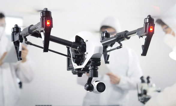 DJI Inspire 1 4K Drone – world's first consumer 4K quad takes to the skies