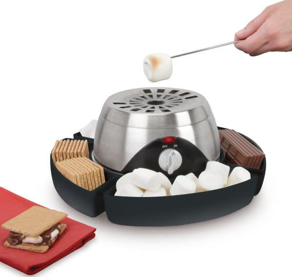 Indoor Flameless Marshmallow Roaster – all the tasty goodness of camping, none of the fire