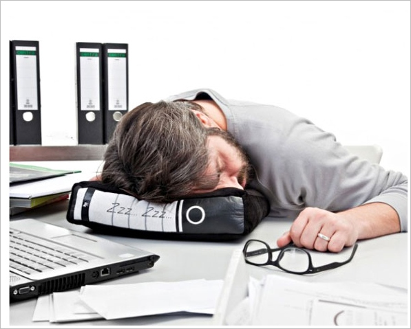 Power Nap – the office pillow that's perfect for those last minute sales meetings