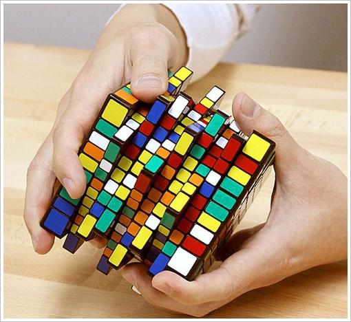 10x10x10 IQ Brick – because the standard Rubik cube is so yesterday