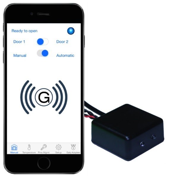 Garage Beacon – turn your smart phone into a garage door remote