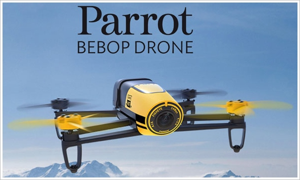 Parrot Bebop Drone Camera – incredibly easy to fly, and amazing video quality, what's not to like? [Review]
