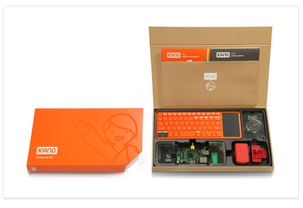 Kano – the DIY computer that teaches you to code